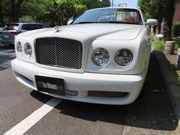 ベントレー アズール V12気筒手組エンジン コーンズ正規ディーラー車 赤革