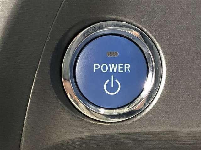 プッシュ式エンジンスタート。このボタン一つでエンジンのスタート・ストップができる便利なアイテムです。