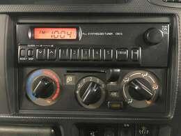 純正ラジオ付きです☆