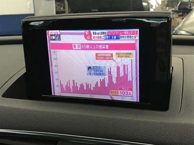 ☆純正でフルセグTV・DVD・Bluetooth・SD再生が可能です☆