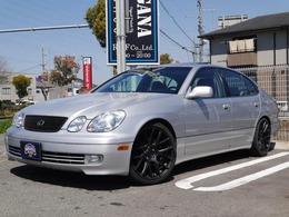 米国レクサス GS 300 左ハンドル 19AW 車高調 マフラー 革
