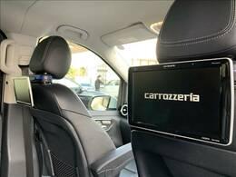 【カロッツェリア リアモニター】装備です!後部座席の方も退屈しません!