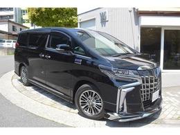 トヨタ アルファード ハイブリッド 2.5 エグゼクティブ ラウンジ S 4WD ロイヤルラウンジモデリスタエアロJBL