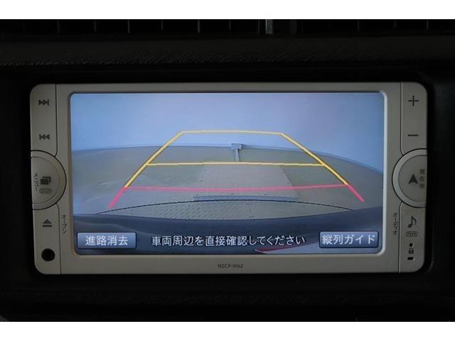 バックカメラになります。後方の死角をモニターで確認でき、駐車が苦手の方にも嬉しい装備ですね。