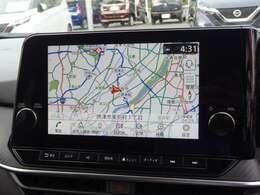日産コネクトナビゲーションシステム 9インチワイドディスプレイ