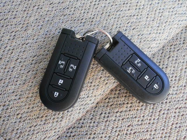 携帯リモコンで鍵の開け閉めもラクです