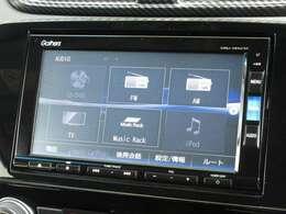 ナビゲーションはホンダ純正メモリーナビ(VXM-195Ci)が装着されております。AM、FM、CD、DVD再生、音楽録音再生、フルセグTV、Bluetoothがご使用いただけます。初めて訪れた場所でも道に迷わず安心ですね!