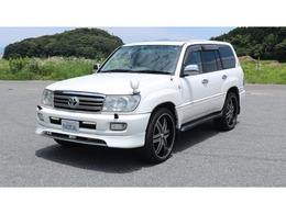 トヨタ ランドクルーザー100 4.7 VXリミテッド 4WD 純正ナビ・TV・Bカメラ・サンルーフ