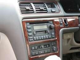 エアコン・オーディオ機器 CD・カセット・ラジオを鑑賞可能