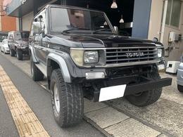 トヨタ ランドクルーザープラド 3.0 SXワイド ディーゼルターボ 4WD 純正黒IIリフトアップ1ナンバー公認