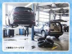 北海道運輸局長指定工場と提携。納車前点検はもちろん、ご要望に合わせて法定点検も実施!車検等のアフターもご安心下さい。
