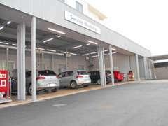 フォルクス・ワーゲン専門の整備スタッフが安心のサービスを実施