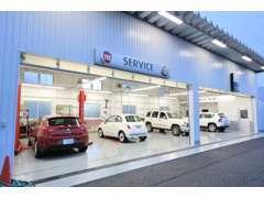 サービス工場は国土交通省の指定工場の認可を受けております。