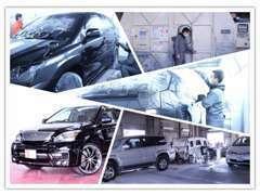 磨き上げた技術と、車を知り尽くしたスタッフの独自のものづくり精神により高い品質が実現します。