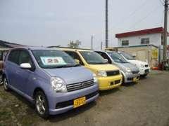 余計なマージンをかけず、お客様にできるだけお求めやすい価格で車両を提供するというのが、私共のモットーです。