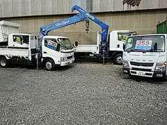 大型・中型・小型・ダンプ・トラック・バン・重機・建設機械取扱