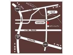 京葉道路の貝塚インター、東金有料の大宮インターが最寄りです☆