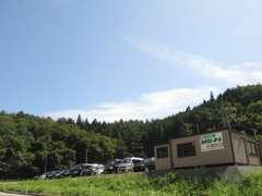 場所は、旧国道沿いで通岡峠を大船渡方面から陸前高田方面に進んで来ていただければ右側にございます!