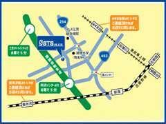 関越自動車道「所沢IC」より車で約5分・東武東上線「みずほ台駅」より約3キロ・ご連絡頂ければ駅までお迎えに上がります♪