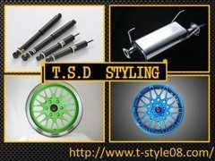 T-STYLE DESIGNパーツ多数取り扱い。詳細はhttp://www.t-style08.comをご覧ください!