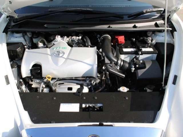 エンジンなどの機関系統はベース車のままとなっております。
