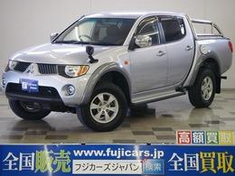 三菱 トライトン 3.5 4WD Sステップ ベッドライナ HDDナビ