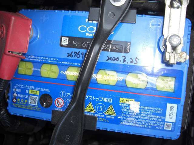 Bプラン画像:お得な価格でバッテリー新品とオートマチックオイルを交換します。