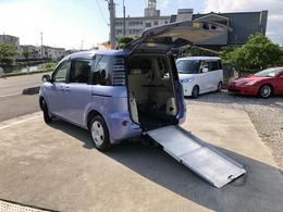 トヨタ シエンタ 1.5 X ウェルキャブ 車いす仕様車 スロープタイプ タイプI 福祉車 ニールダウン式 Tチェーン 1オーナ