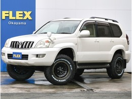 トヨタ ランドクルーザープラド 2.7 TX 4WD パールホワイト・28000KM・ウッドコンビ