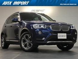 BMW X3 xドライブ20d  xライン ディーゼルターボ 4WD ベージュ革 Sヒーター 純正ナビ 電動テール