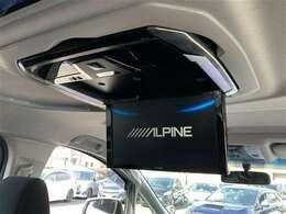 【 アルパイン製12.8型フリップダウンモニター 】PXH12-RB-AV 後席のゲストやお子様も大画面で映像をお楽しみいただけます!ロングドライブや渋滞中も退屈することのない快適なドライブを!