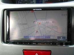 フルセグTV、Bluetooth接続可能、メモリーナビ搭載