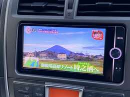 SDナビフルセグTVバックカメラ装備で渋滞も暇しませんよ!!