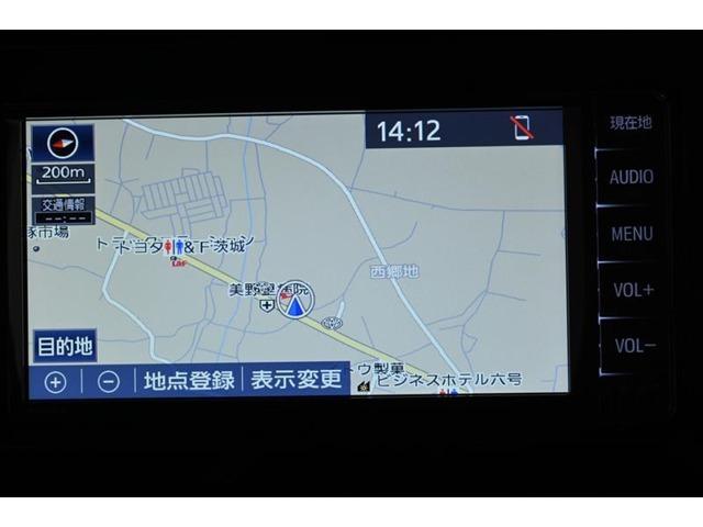 純正SDナビゲーションです。(NSCN-W68) タッチパネルで操作できます。
