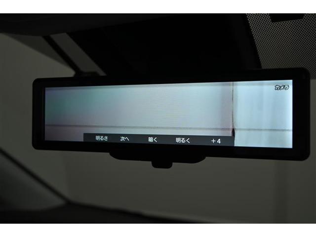 電子インナーミラー装備。 車両後方カメラの映像をインナーミラー内に表示します。