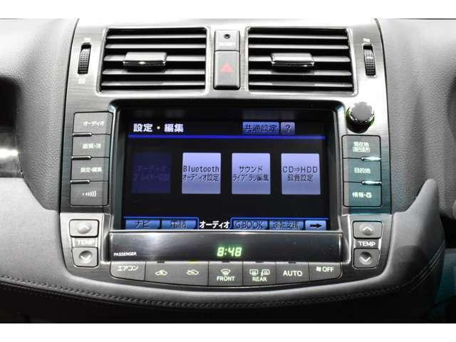 ☆ドライブには欠かせない必須アイテムHDDナビゲーション装着車!【ミュージックサーバーには約2000曲の録音が可能です!タッチパネルで簡単操作が実現!もちろん、バージョンアップも承ります!】☆