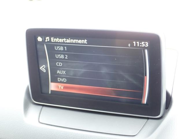CD/DVD再生はもちろん,地デジチューナーやUSB端子も装備、Bluetoothも使用可能です!