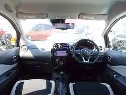 運転席からの視界が左右に広く隅々まではっきりと見渡せます。車の前端も把握しやすく安心して運転ができます。