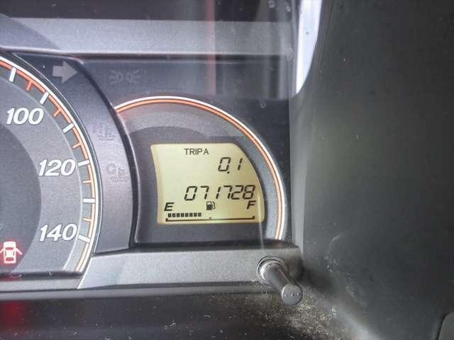 走行距離が7万キロ台です。まだまだお乗りいただけますよ!
