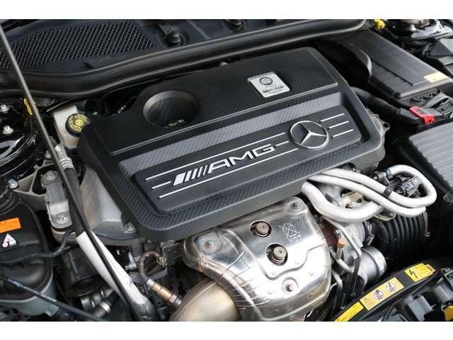 心臓部はカタログ値360馬力を誇る2,000CC 直列4気筒DOHCターボエンジンを搭載!