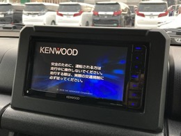 【 7型メモリナビ 】KENWOOD MDV-L505W AM,FM,CD,DVD,SD,Bluetooth,フルセグ