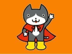 一般公募により選ばれたイメージキャラクター「車ネコジロー」!皆さんのご来店心よりお待ちしております♪