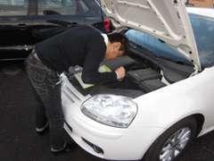 全車両入庫チェック済み。修復歴の有無、走行メーターにも保証をお付けしております。