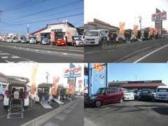 オートピア21都城店には福祉車輌を専門に展示してあるコーナーがあります。軽自動車から普通車まで常時60台以上展示してます