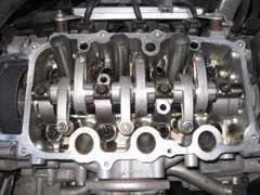 ●売却したライフ走行10.2万kのオイル管理の良いエンジン内部 オイルスラッチ無く、おろしたて状態に近いのに驚き!!