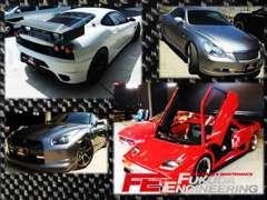 兄弟で違うジャンルを得意としておりフェラーリからスポーツカー、アメ車まで幅広く取り扱うお店です。