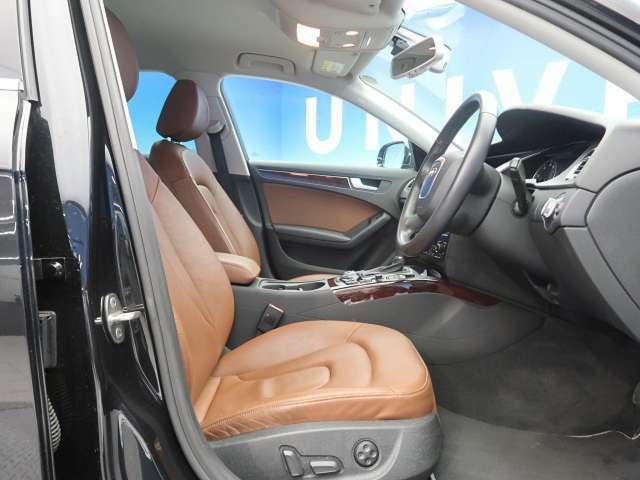 ●ブラウン革シート●シートヒーター●パワーシート『ゆったりとしたドライバースペースで、長時間の運転でも快適にお過ごしいただけます。』