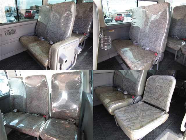 ビニールのシートカバーがついていますので、シートもきれいですよ!