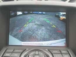 バックビューモニターつきで駐車の際も安心!