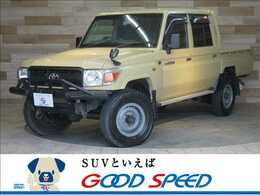 トヨタ ランドクルーザー70ピックアップ 4.0 4WD 純正SDTV ETC STSチューブバンパー 4WD